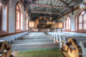 Inselkirche Langeoog, mal eine andere Perspektive und als HDR