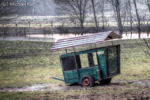 ... ein Futterwagen!