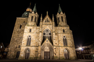 St. Viktor bei Nacht